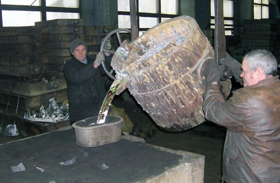 Литейный цех Электромеханического завода «Звезда» обладает большими мощностями